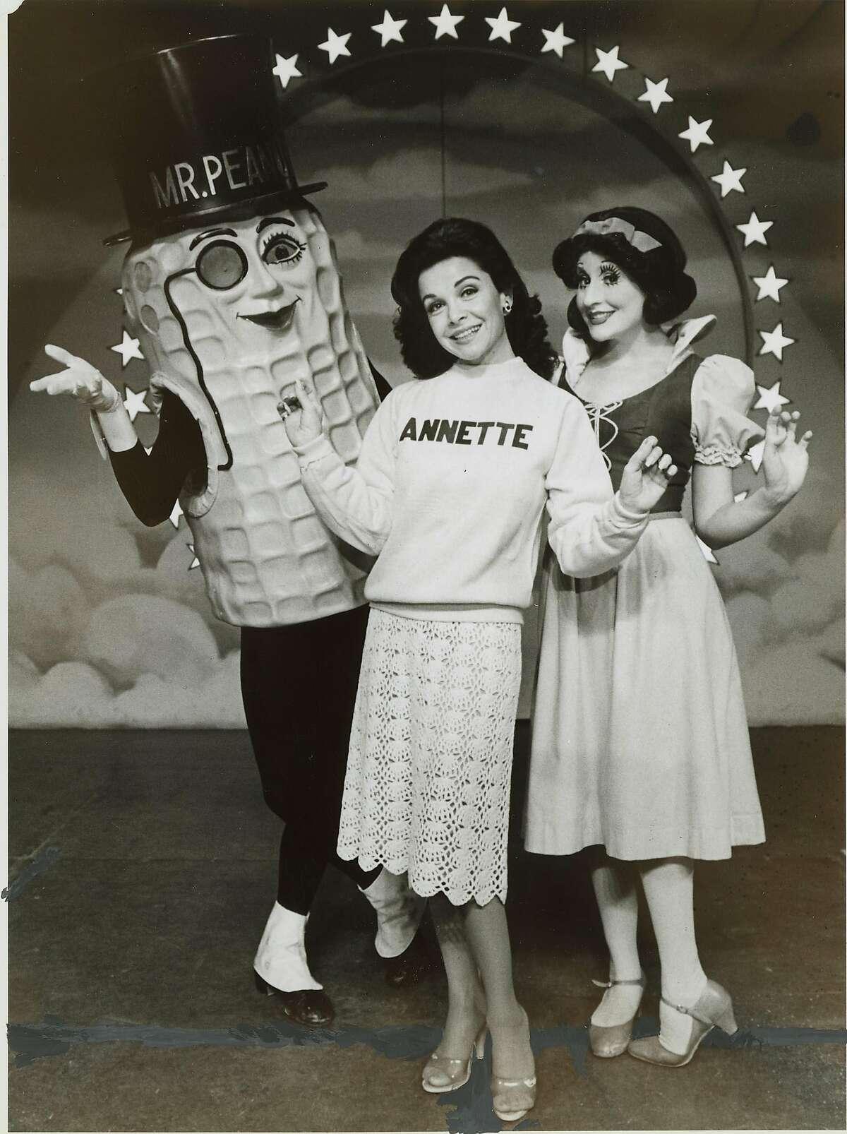 "Annette Funicello in ""Beach Blanket Babylon"" in 1981."