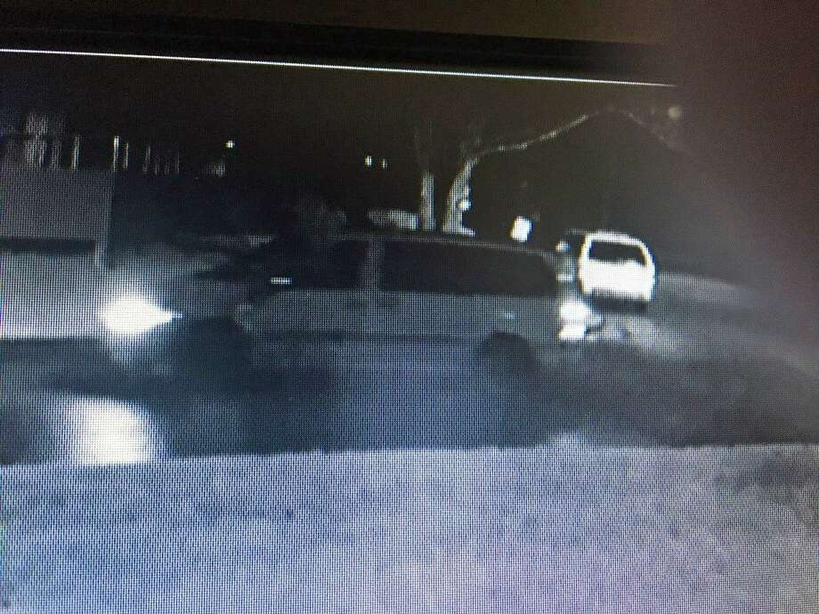 Branford police are asking the public's help to ID a mini-van seen at location where wheels were stolen from a vehicle. The wheels were stolen from a vehicle in the area of Montoya Circle during the overnight hours on Tuesday, April 14, 2019 police said. Photo: Branford Police Photo