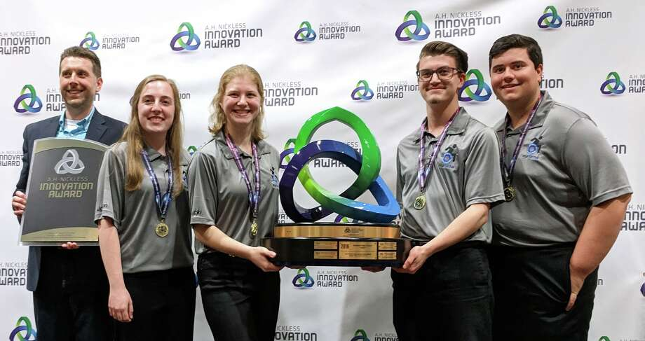 First place: Chemic Portal, Midland High School. Photo: (Photo Provided)