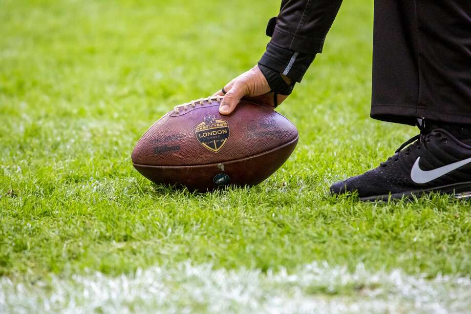 PHOTOS: NFL's best available free agents LONDON, ENG - OCTOBER 28: A ball ends up in the end zone and is picked up by a referee during the NFL game between the Philadelphia Eagles and the Jacksonville Jaguars on October 28, 2018 at Wembley Stadium, London, England. (Photo by Martin Leitch/Icon Sportswire via Getty Images) >>>See which players remain available during the 2019 offseason ... Photo: Icon Sportswire/Icon Sportswire Via Getty Images