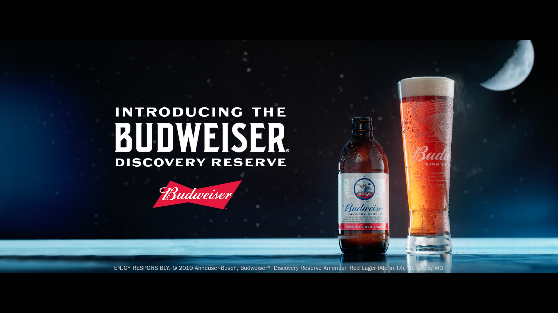 Budweiser Launches New Beer For Apollo Anniversary