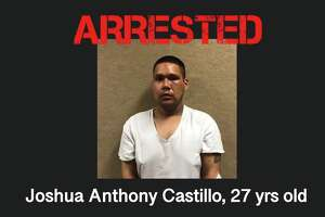 Joshua Anthony Castillo, 27, was arrested after he allegedly robbed a Culebra Meat Market while armed with a shotgun.