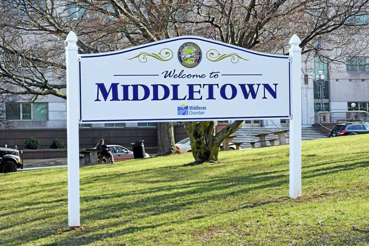 Middletown sign