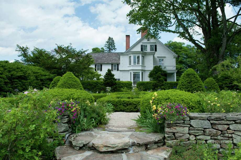 """The Bellamy Ferriday House & Garden in Bethlehem is a real part of New York Times bestselling author's historical fiction. Martha Hall Kelly, below, has written a followup to """"Lilac Girls."""" Photo: Contributed Photos / Defining Studios"""