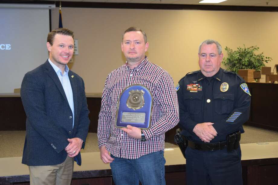 The Plainview Police Department recognized several of its officers at its fifth annual recognition banquet Friday night. Photo: Courtesy Photo
