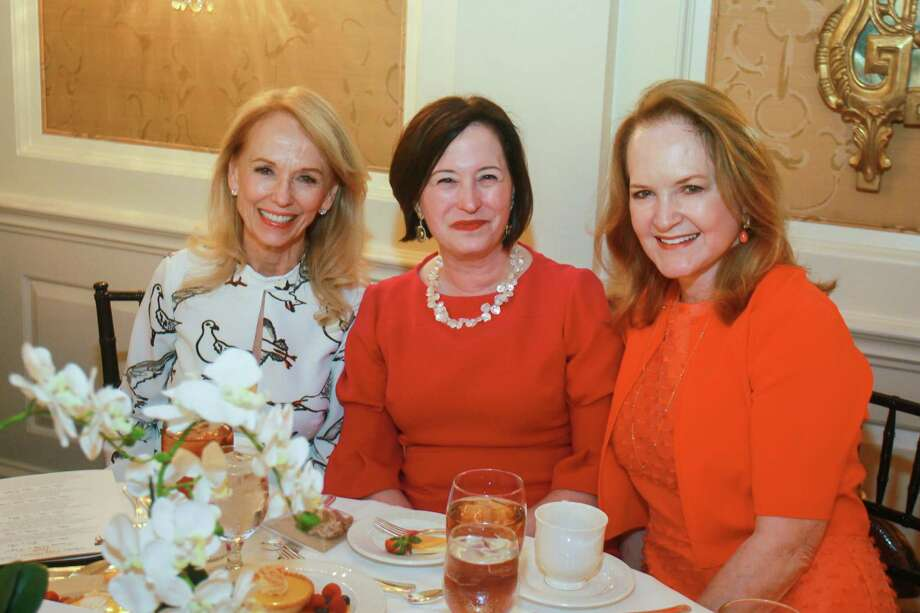 Susan Sarofim, Anne Neeson and Sandy Barrett Photo: Gary Fountain, Contributor / © 2019 Gary Fountain