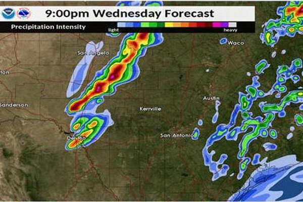 san antonio weather map radar Nws San Antonio Now At Enhanced Risk Of Severe Storm Bringing san antonio weather map radar