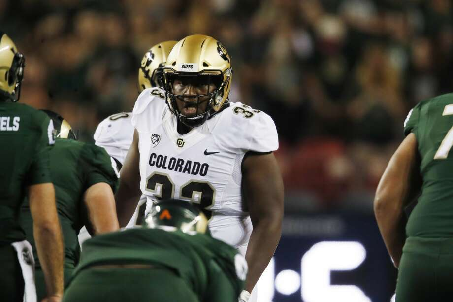 PHOTOS: NFL's best available free agents  Colorado Buffaloes nose tackle Javier Edwards (33) in the first half of an NCAA college football game Friday, Aug. 31, 2018, in Denver. (AP Photo/David Zalubowski) >>>See which players remain available during the 2019 offseason ...  Photo: David Zalubowski/AP