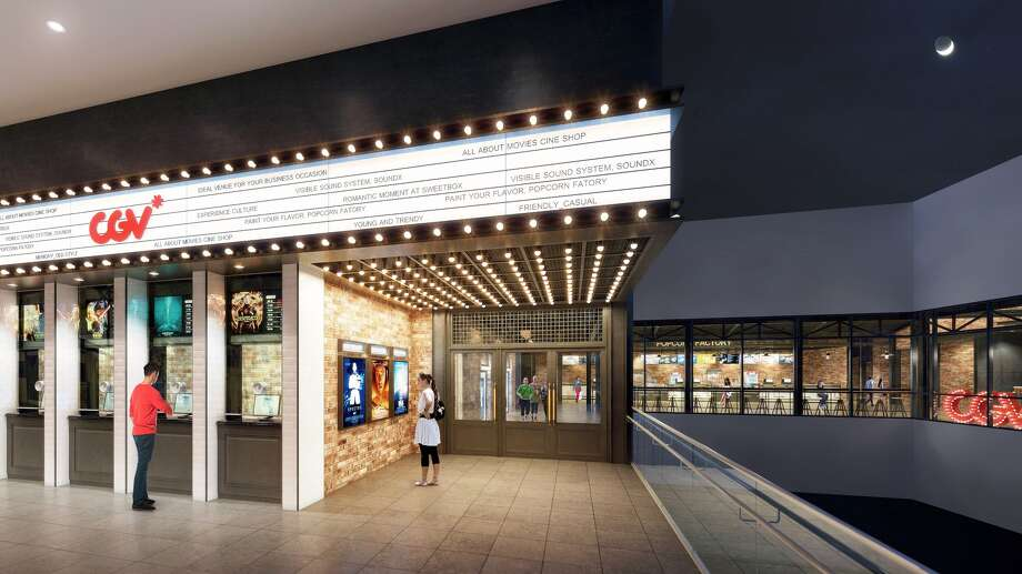 A mockup of the CJ-CGV theater. Photo: Courtesy Of CJ-CGV