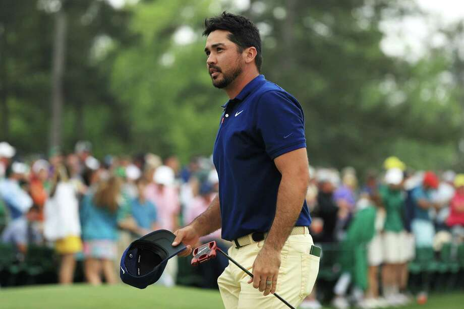 AUGUSTA, GEORGIA - APRIL 14: Jason Day of Australia waves on the 18th green during the final round of the Masters at Augusta National Golf Club on April 14, 2019 in Augusta, Georgia. Photo: Mike Ehrmann / Getty Images / 2019 Getty Images