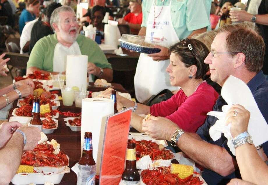 PHOTOS: Crawfish spots in HoustonThe Humble Police Association will host their 23rd annual crawfish festival on April 26 to raise funds for local scholarships.>>>See more for where to get crawfish in Houston... Photo: JENNIFER SUMMER / The Observer / The Observer