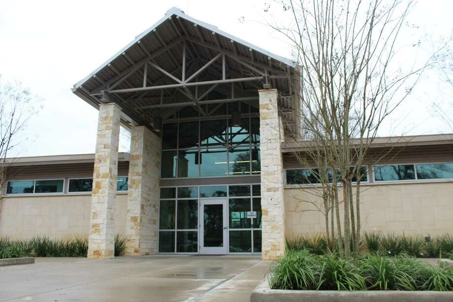 The Harris County Precinct 4 Service Center in Tomball was awarded LEED Gold Certification by the United States Green Building Council. Photo: Melanie Feuk