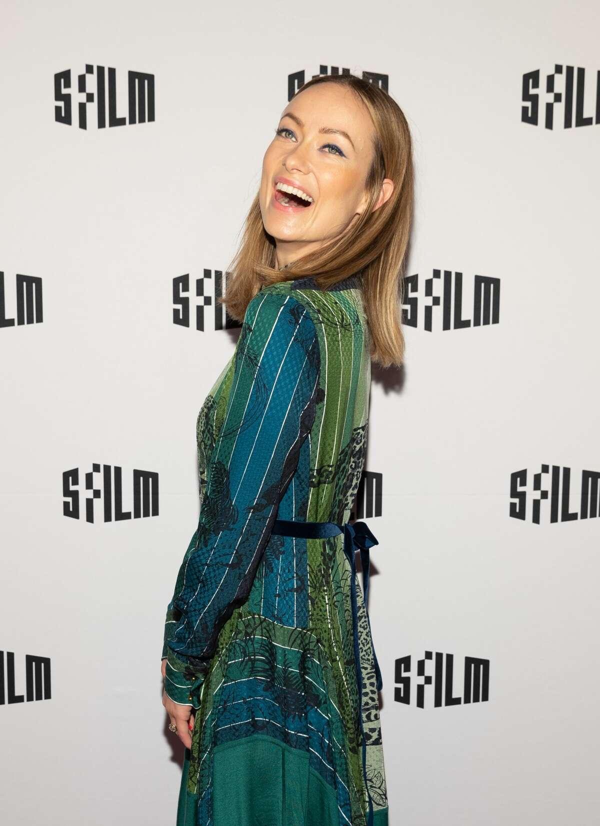 Olivia Wilde attends SFFILM Festival 2019 Red Carpet Arrivals for 'Booksmart' on April 16th 2019 at Castro Theatre in San Franciso, CA (Photo - Drew Altizer)