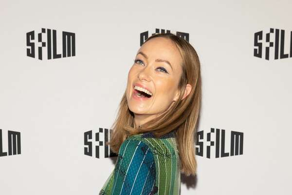 Olivia Wilde attends SFFILM Festival 2019 Red Carpet Arrivals for 'Booksmart' on April 16th 2019 at Castro Theatre in San Franciso, CA (Photo - Drew Altizer)