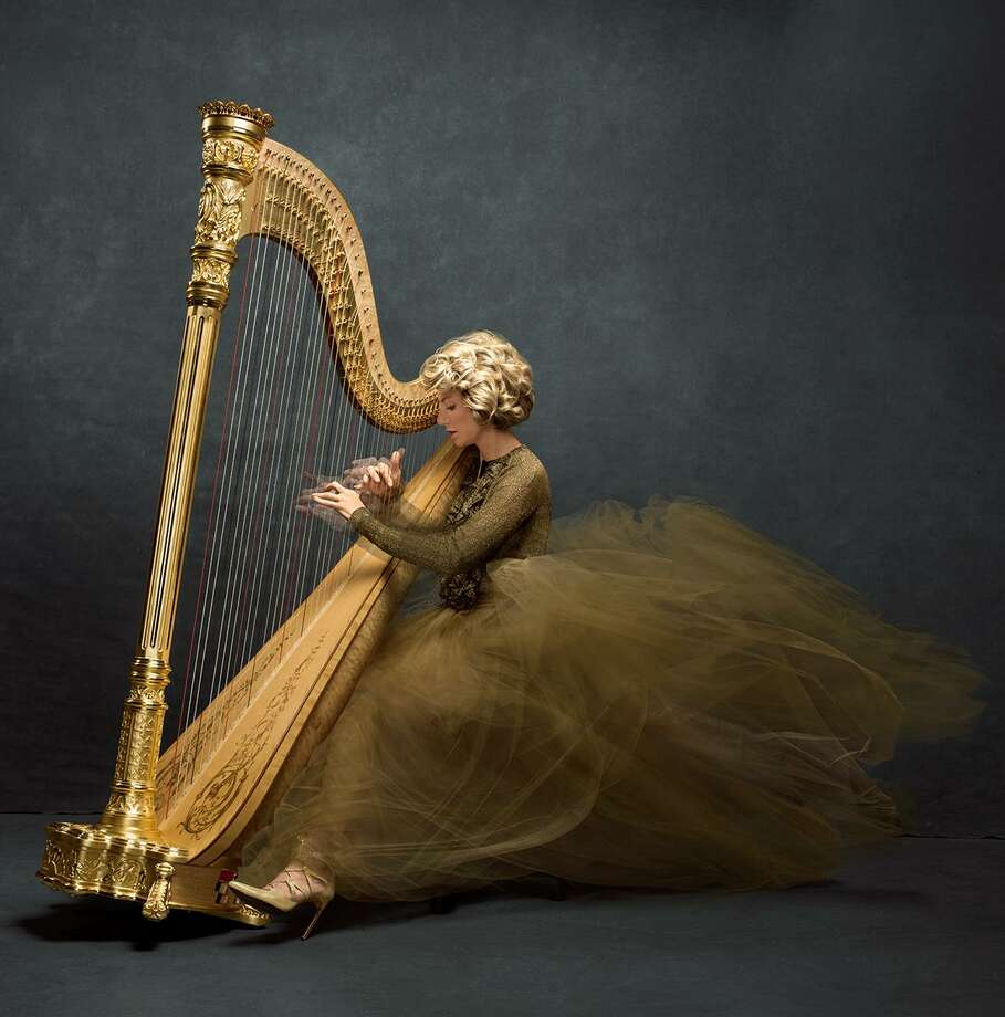 Famed harpist Lisa Tannebuam will perform a benefit concert April 28 at the Treetops Performance Center in Stamford, with the proceeds used to help bring Music That Heals performances to Greenwich Hospital. Photo: Lisa Tannebuam / Contributed Photo