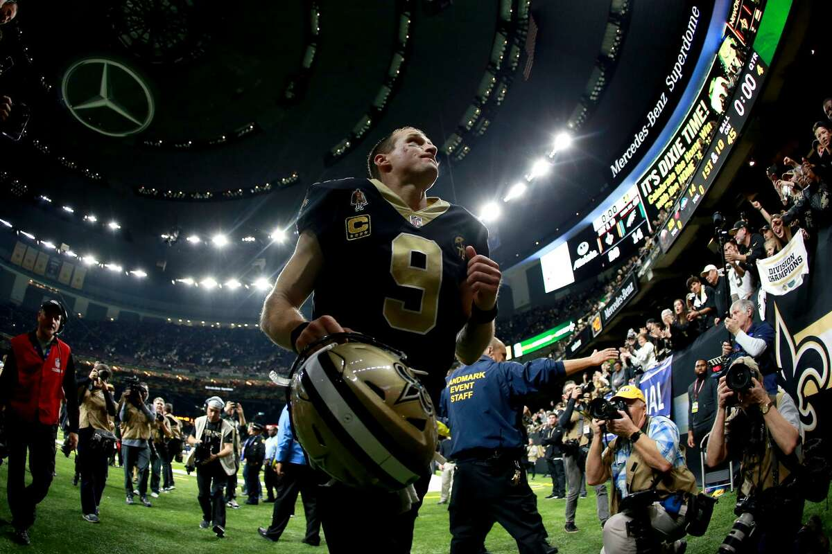 WEEK 1 Monday, Sept. 9 at New Orleans Saints, 6:10 p.m. at Mercedes-Benz Superdome