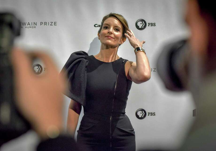 Tina Fey walks the red carpet for the annual Mark Twain Prize for American Humor ceremony at the Kennedy Center on Oct. 21, 2018 in Washington, D.C. Photo: Washington Post Photo By Bill O'Leary / The Washington Post