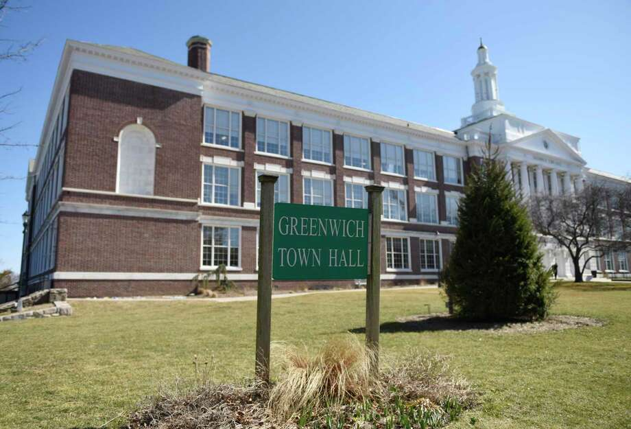 Town Hall in Greenwich, Photo: Tyler Sizemore / Hearst Connecticut Media / Greenwich Time