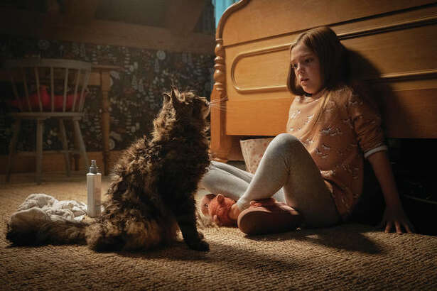 """Jeté Laurence in a scene from """"Pet Sematary."""""""