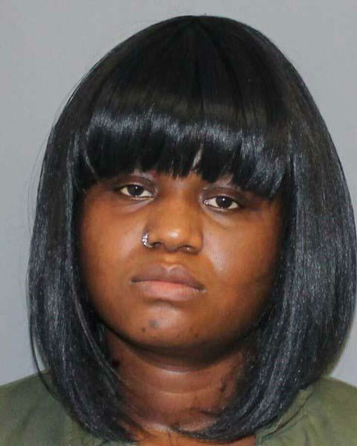 Jennifer Poitevien, a 30-year-old Shelton, Conn., resident, was charged on Wednesday, April 17, 2019, with first-degree larceny, credit card theft and first-degree identity theft. Police took Poitevien into custody on Wednesday. Photo: Contributed Photo / Shelton Police Department / Contributed Photo / Connecticut Post Contributed