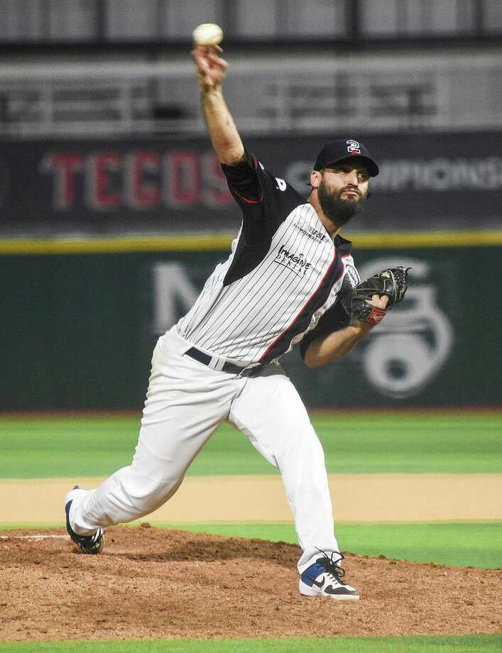 "Tecolotes starting pitcher Kenneth Sigman was placed on the reserve list on June 19 due to what manager Alfonso ""Houston"" Jimenez deemed a minor shoulder issue. Photo: Danny Zaragoza /Laredo Morning Times File"