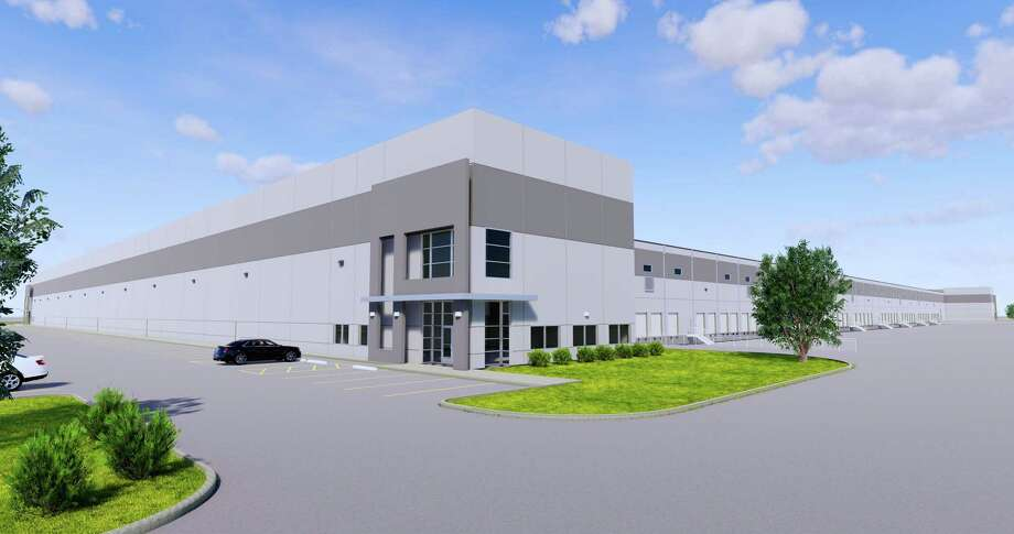 Clay Development & Construction will deliver the 524,528-square-foot Kennedy Greens Distribution Center Ion JFK Boulevard at Lauder Road in north Houston in the fourth quarter. The building represents Clay's fourth new spec distribution building in the Houston region since July 2018. Photo: Clay Development & Construction