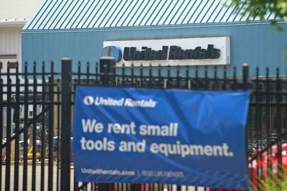 United Rentals runs a depot at 227 Selleck St., in Stamford, Conn., a few blocks from its headquarters in the First Stamford Place complex. Photo: Michael Cummo / Hearst Connecticut Media / Stamford Advocate
