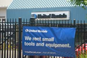 United Rentals operates an equipment-rental depot at 224 Selleck St., in Stamford, Conn.