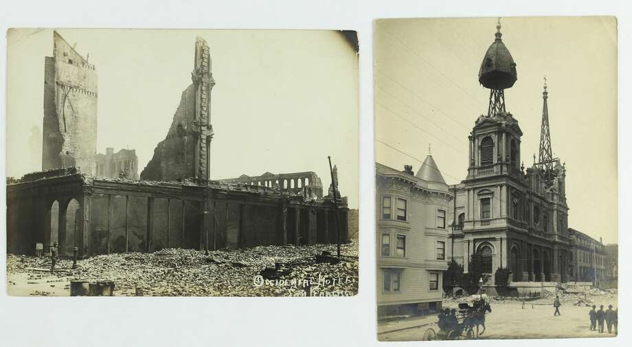 Rare 1906 San Francisco earthquake and fire photos are being auctioned by Swann Auction Galleries. Photo: Courtesy Of Swann Auction Galleries