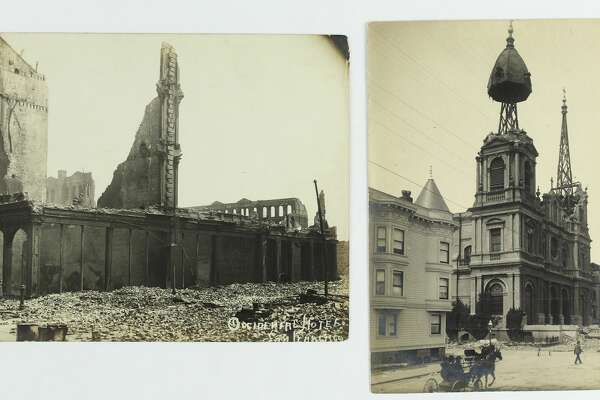 Rare 1906 San Francisco earthquake and fire photos are being auctioned by Swann Auction Galleries.