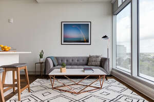 Aparthotel company Locale announced Tuesday it raised $2.5 million, which it will use to expand the number of apartment units it leases, furnishes and manages as short-term rentals. This unit is one of roughly 30 that it rents out of the Latitude Med Center.