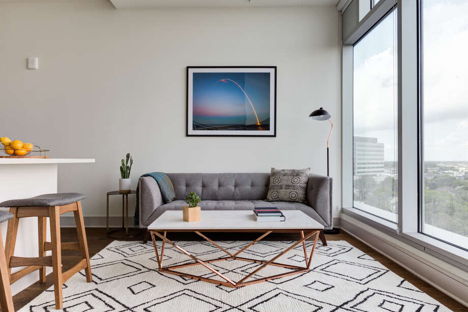Aparthotel company Locale announced Tuesday it raised $2.5 million, which it will use to expand the number of apartment units it leases, furnishes and manages as short-term rentals. This unit is one of roughly 30 that it rents out of the Latitude Med Center. Photo: Impressive Spaces