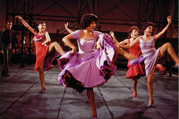 """Rita Moreno (center) won an Oscar for the 1961 film version of """"West Side Story."""""""