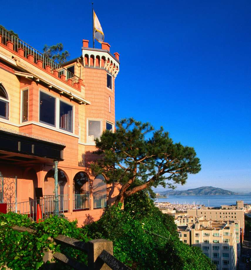 We recently went inside the iconic Julius' Castle in San Francisco.  Click ahead to see what the latest renovations look like. Photo: John Elk/Getty Images/Lonely Planet Image