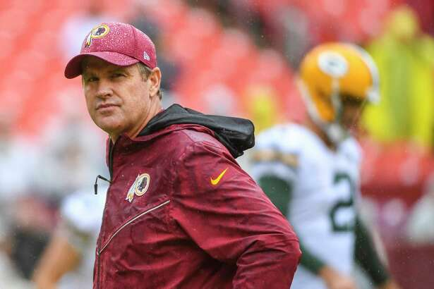 Washington Redskins coach Jay Gruden's job could be on the line if the team doesn't rebound from last year's disappointing 7-9 record.