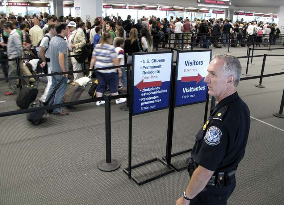 You can speed through airport customs and immigration with the new Mobile Passport app-- download it now! Photo: CBP