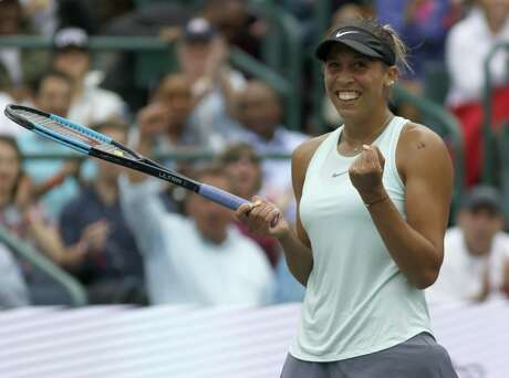 Madison Keys' work with a new coach led to a victory over Caroline Wozniacki in Charleston, S.C., on April 7.