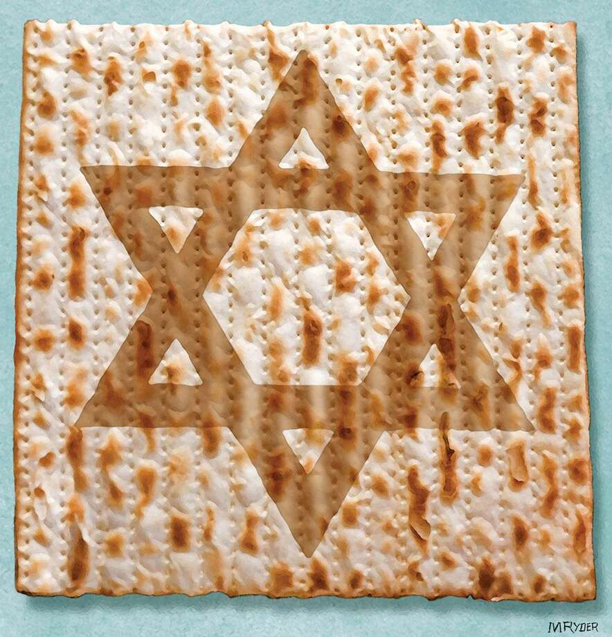 This artwork by M. Ryder relates to Passover. Photo: M. Ryder