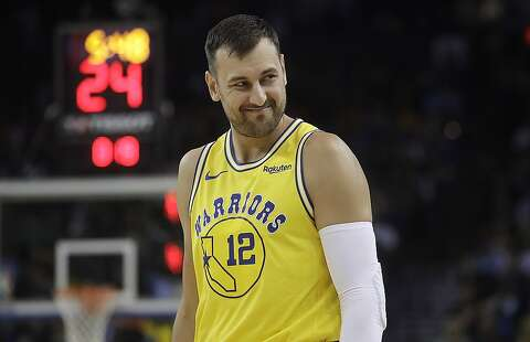 0e3cad72f6f Golden State Warriors center Andrew Bogut (12) against the Denver Nuggets  during an NBA