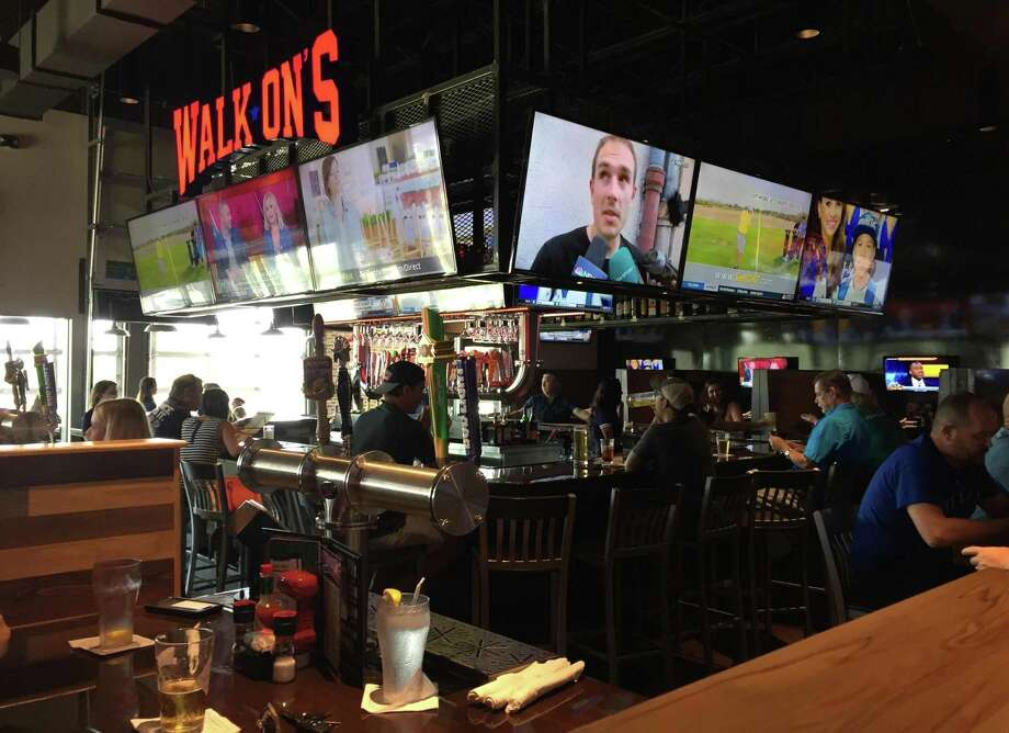 Walk-On's Bistreaux and Bar is located at 1400 Pantheon Way Photo: Paul Stephen / Paul Stephen / San Antonio Express-News