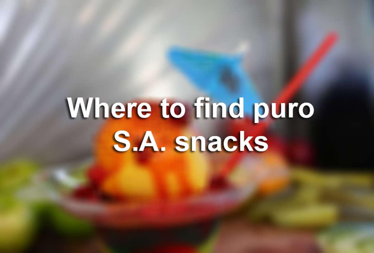 Where to find puro San Antonio snacks and treats.