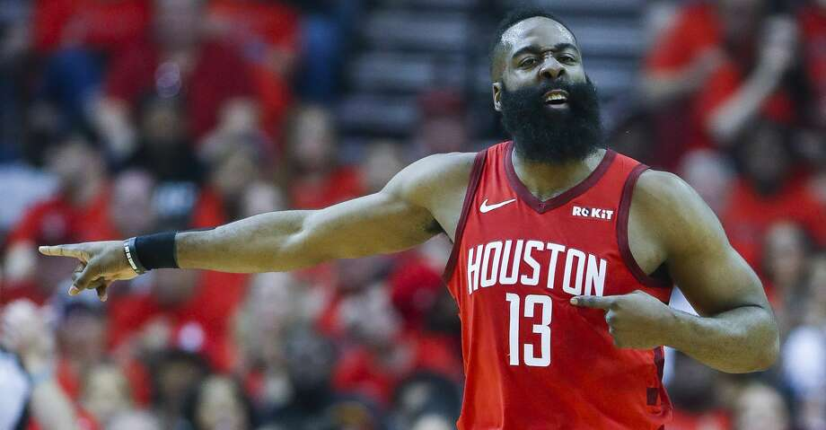 PHOTOS: Rockets game-by-game Houston Rockets guard James Harden (13) reacts to a shot during the first half of the first round of the NBA playoffs at Toyota Center, Sunday, April 14, 2019, in Houston. Browse through the photos to see how the Rockets fared in each game this season. Photo: Karen Warren/Staff Photographer