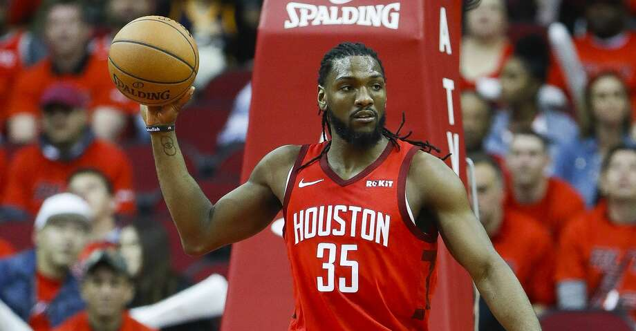 PHOTOS: Rockets game-by-game Houston Rockets forward Kenneth Faried (35) brings the ball down court during the second half of the first round of the NBA playoffs at Toyota Center, Sunday, April 14, 2019, in Houston. Browse through the photos to see how the Rockets fared in each game this season. Photo: Karen Warren/Staff Photographer