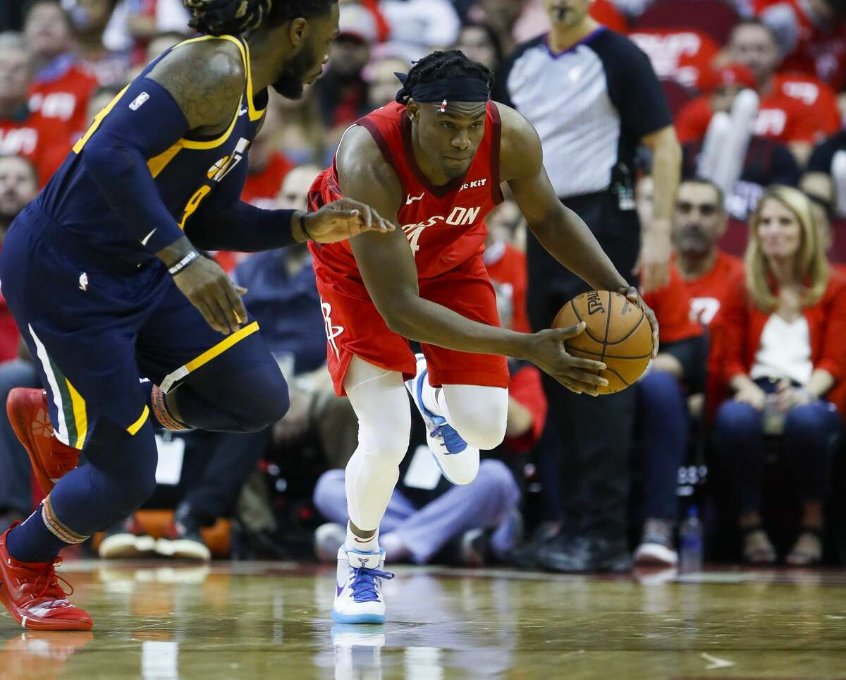 Danuel House Jr.'s first season with the Rockets had more than its shares of ups and downs and concluded with him stapled to the bench during the playoff series against the Warriors.