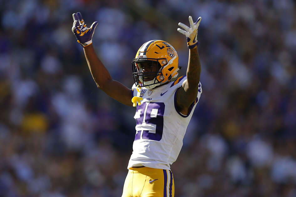 LSU's Greedy Williams is considered the top cornerback in a position group that may not have many first-round selections this year.