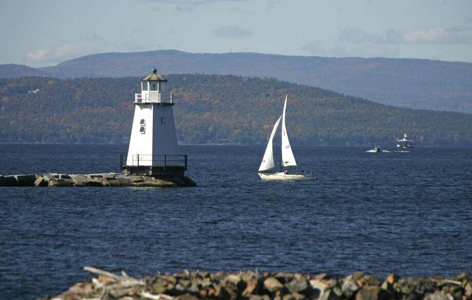 FILE - In this Oct. 10, 2008 file photo, boats travel across the waters of Lake Champlain in Burlington, Vt. Photo: Toby Talbot / AP / AP