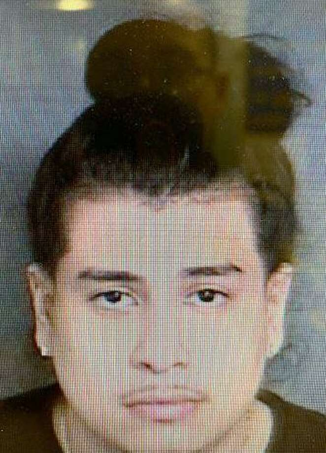 """Christian Enrique Cedillos, 22, of Bridgeport, was arrested on Saturday, April 13, 2019 on possession of a controlled substance, possession with intent to sell, possession of drug paraphernalia, disobeying the signal of an officer and traveling unreasonably fast. Cedillos drew troopers' attention because they observed him speeding in a silver Mercedes on I-84 in Newtown. Troopers discovered he was in possession of a """"large amount of marijuana"""" and drug paraphernalia. Photo: Josue J.. Dorelus /"""