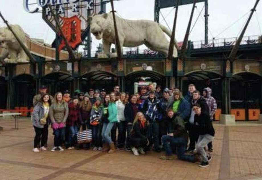 Harbor Beach students recently traveled to Comerica Park to attend a Detroit Tigers baseball game. Students who attended were able to watch a demonstration on how forensic science works. The school was able to make this field trip happen due to the program Get Schooled. Students have been working to gain points all year long, which made going to the game possible. About 38 students were able to attend this great opportunity to get outside and enjoy a nice day of baseball. (Submitted Photo)