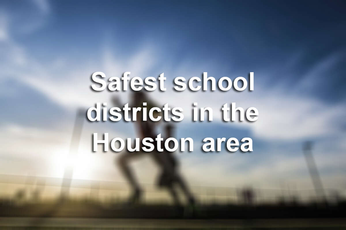 >> Click through the following gallery to see the safest school districts in the Houston area, according to Niche.