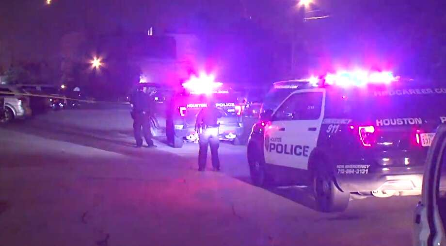 A woman was shot in the arm late Wednesday after approaching a man with Mace and a Taser in the back of an apartment complex near NRG Park, police said. Photo: Metro Video